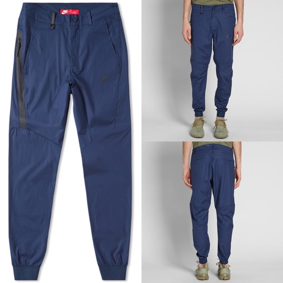 NIKE TECH WOVEN Bonded The One Pant Navy Obsidian Blue Black